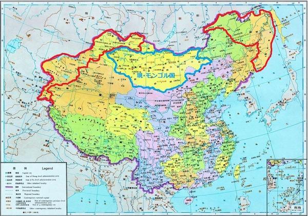 赤枠内が ロシア に割譲されて ... : 世界 国 地図 : すべての講義